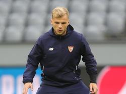 Johannes Geis spielt derzeit noch beim FC Sevilla in Spanien