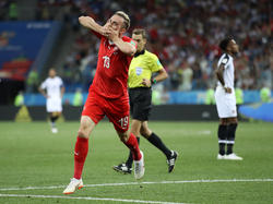 Josip Drmic erzielte das wichtige 2:1 für die Schweiz