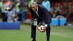 Brasiliens Trainer Tite ist mit seinem Team bei der WM ausgeschieden