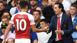 Mesut Özil steht beim FC Arsenal enorm unter Beschuss