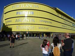 Außenansicht des Estadio de la Cerámica