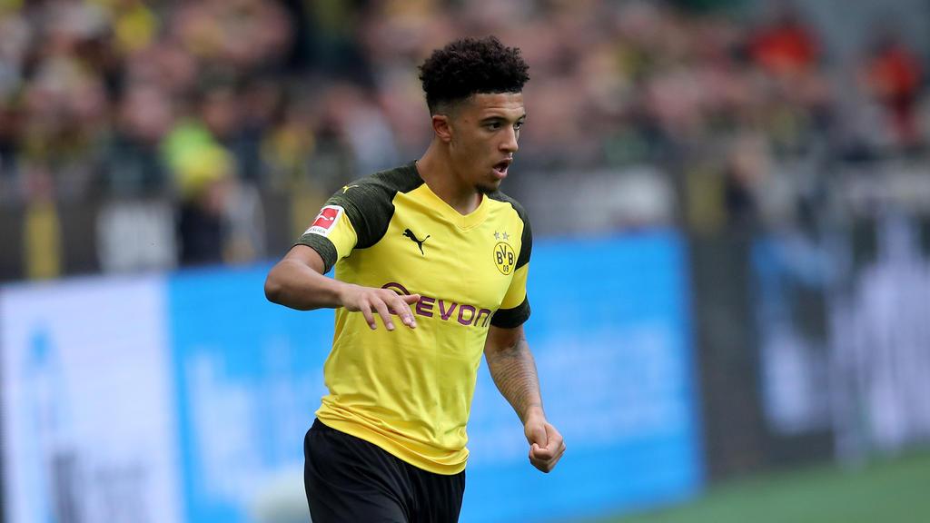 BVB-Juwel Jadon Sancho fiebert dem Spiel gegen den FC Bayern München entgegen