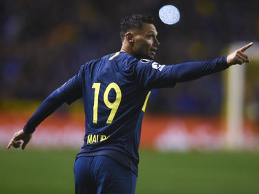 Zárate celebra su tanto con Boca Juniors. (Foto: Getty)