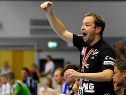 Jan Gorr als Trainer vom TV Hüttenberg