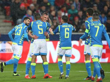 El Nápoles perdió en Salzburgo por 3-1 pero va a cuartos gracias al 3-0 de la ida. (Foto: Getty)