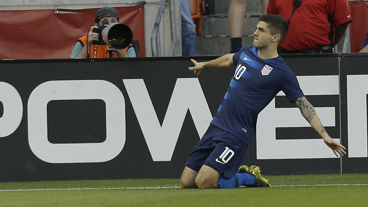 BVB-Angreifer Christian Pulisic erzielte für die USA einen Treffer