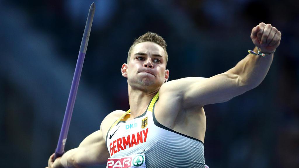 Johannes Vetter hat einen Sieg für Team Europa geholt