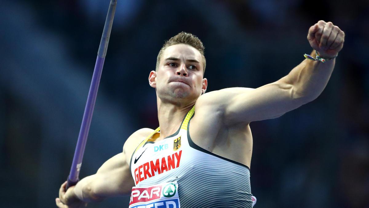 Johannes Vetter siegte beim ISTAF mit 85,40 m