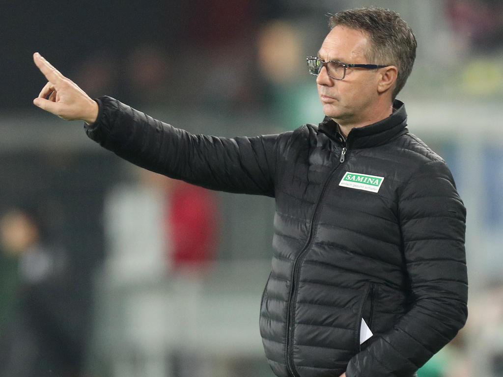 Geht es nach dem Rapid-Sportchef, dann bleibt Damir Canadi vorerst weiter Trainer