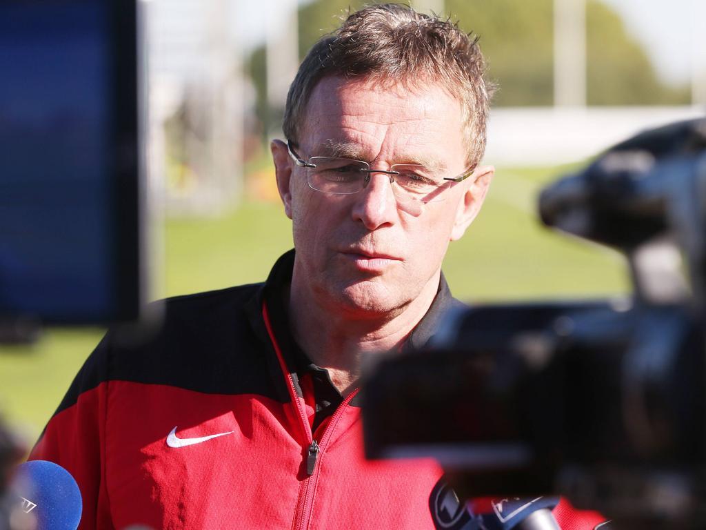 Rangnick hat betont, dass es bei RB Leipzig keine Krise gibt
