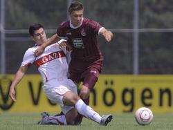 Andreas Maier (Neuzugang Heidenheim 2011/2012: Hier noch für die Stuttgarter A-Junioren)