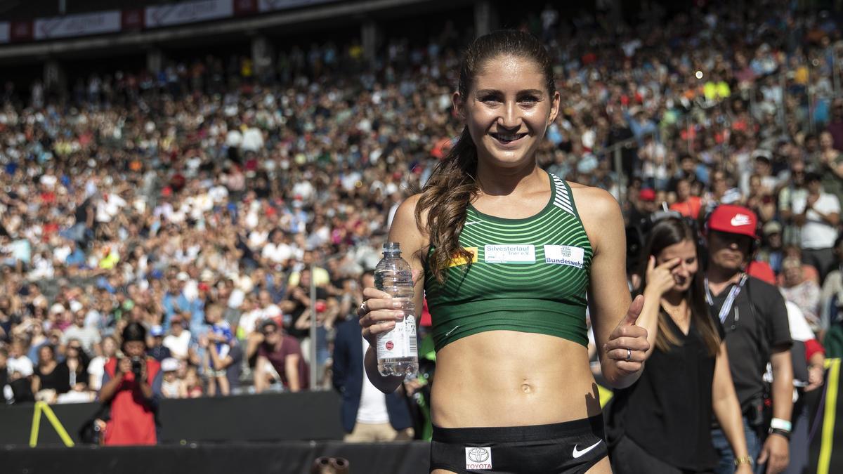 Gesa Felicitas Krause knackte den deutschen Rekord