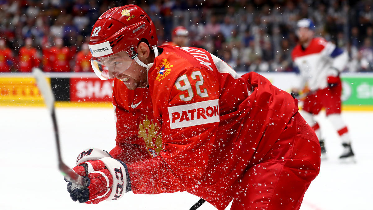 Yevgeni Kuznetsov wurde vom IIHF wegen Kokain-Konsums gesperrt