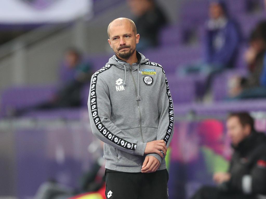 Sturm-Trainer El Maestro ist enttäuscht
