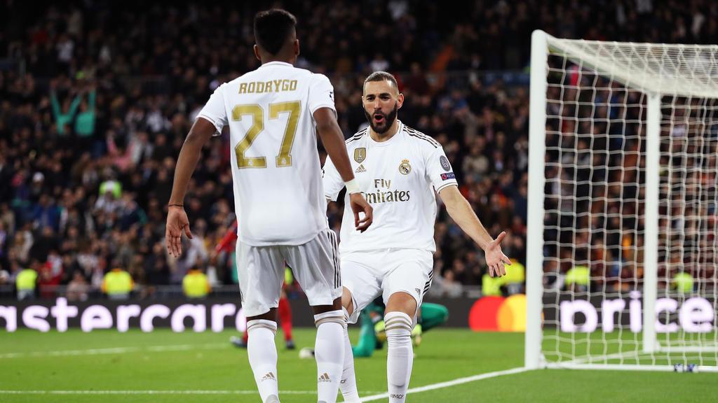 Rodrygo and Benzema