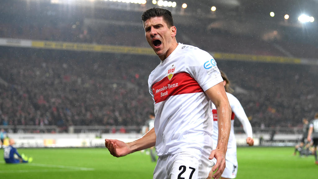 Mario Gomez steuerte einen Treffer und eine Vorlage zum Stuttgarter Sieg bei