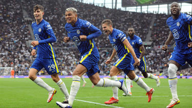 Der FC Chelsea setzte sich mühelos gegen Tottenham durch