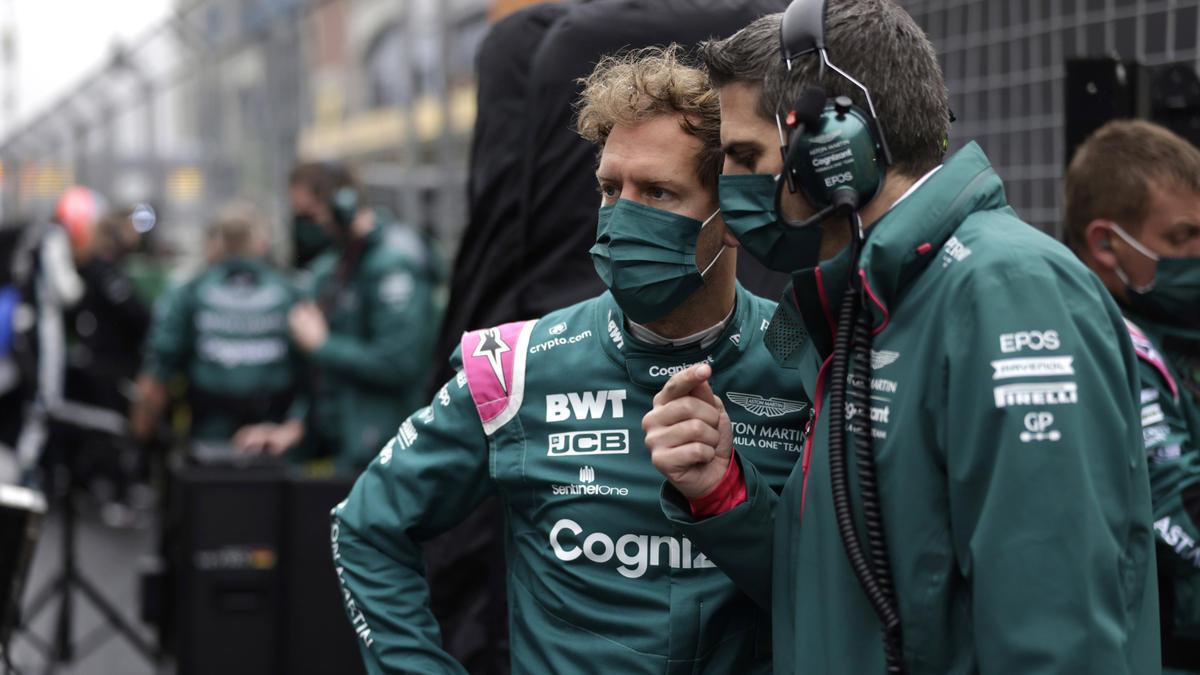 Sebastian Vettel verzockte sich am Sonntag bei der Strategie