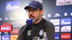 S04-Trainer David Wagner äußerte sich vor dem Bundesliga-Spiel gegen Gladbach
