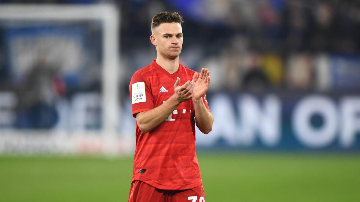 Erzielte das goldene Tor für den FC Bayern beim FC Schalke 04: Joshua Kimmich