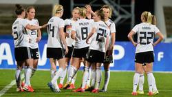 Die deutschen Frauen begeistern in Portugal