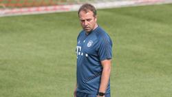 Hansi Flick war einverstanden mit der Leistung seiner Bayern