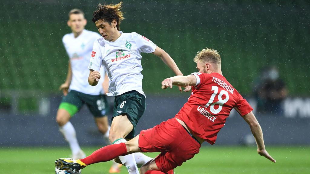 Enttäuschende Leistung von Werder Bremen