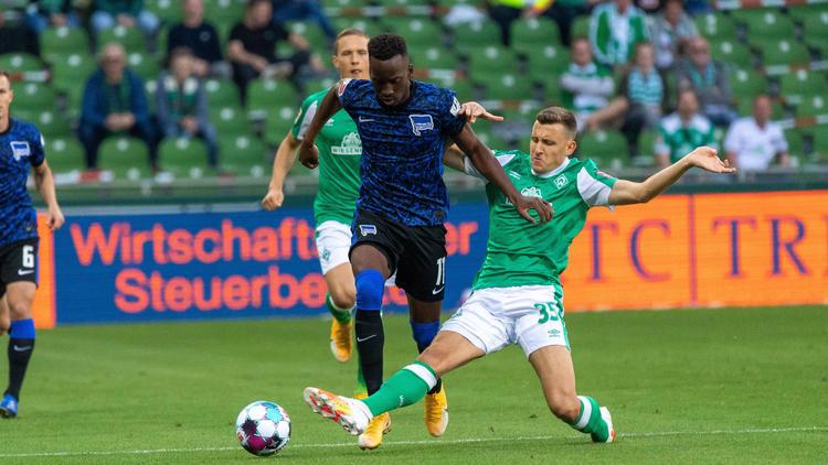 Hertha BSC besiegte den SV Werder Bremen