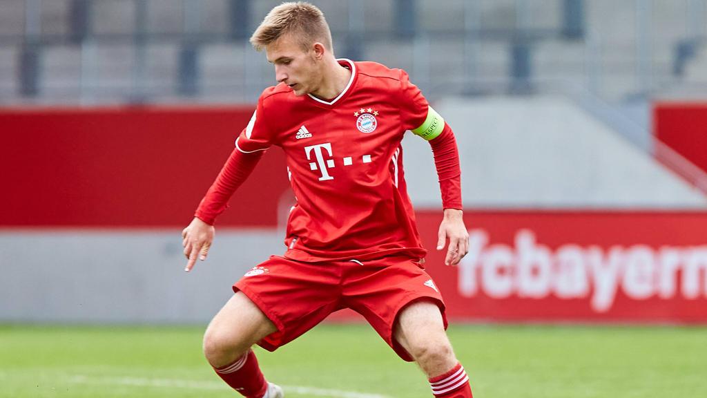 Torben Rhein soll beim FC Bayern verlängern