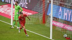 Wieder einmal der überragende Mann beim FC Bayern: Robert Lewandowski