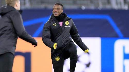 Moukoko steht beim BVB bis Sommer 2022 unter Vertrag