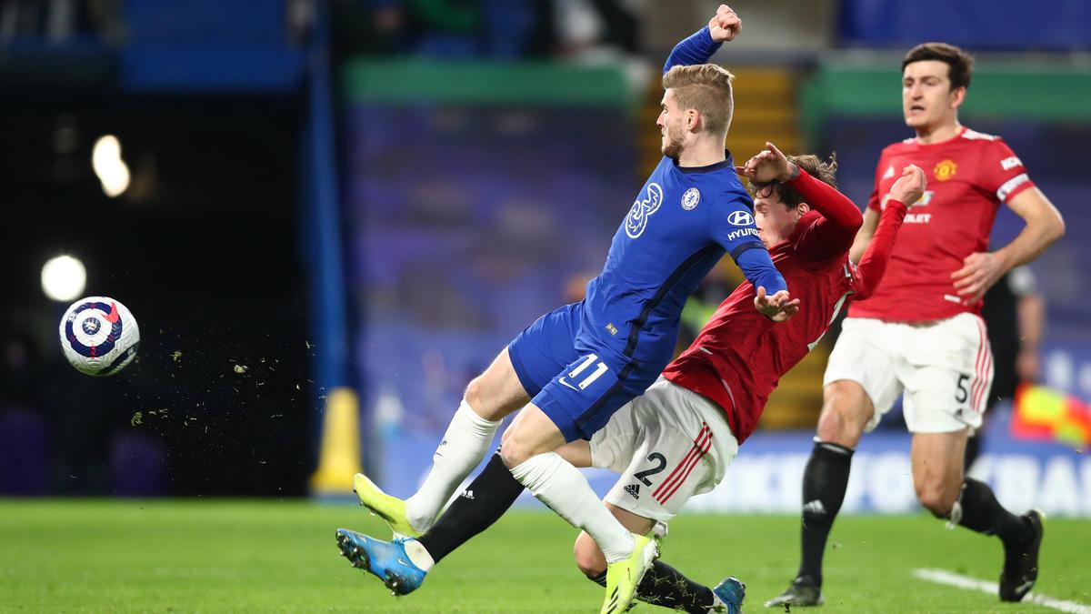 Der FC Chelsea kam gegen United nicht über ein 0:0 hinaus