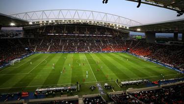 Imagen del Estadio do Dragao de Oporto.