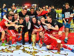 Auf dem Weg zum Finalsieg 2013 machten die Bayern bereits in Augsburg Station und sind daher vorgewarnt