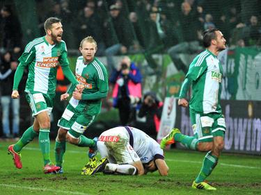 Rapid darf sich über den Derbysieg gegen die Austria freuen
