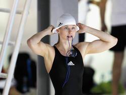 Britta Steffen lässt Badeanzug und Badekappe in diesem Jahr zuhause