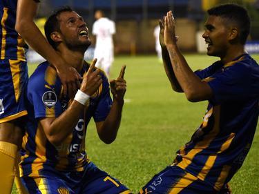 Fredy Bareiro marcó el primer gol de su equipo. (Foto: Imago)