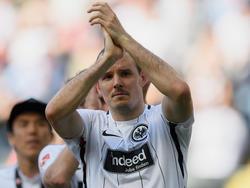 Die Fans wollen einen Verbleib von Meier in Frankfurt