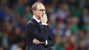 Martin O'Neill ist nicht mehr Trainer von Irland
