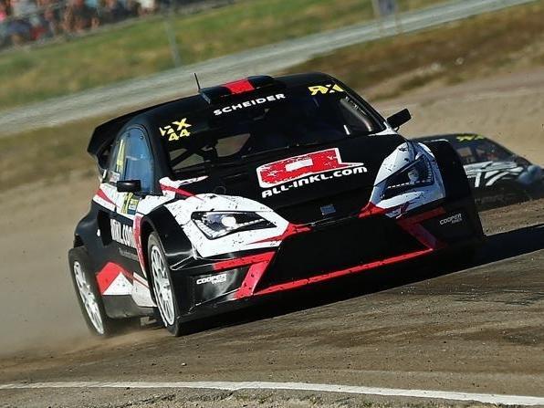 Timo Scheider hat weiterhin viel Spaß am Rallycross