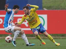 Christian Klem (r.) wechselt nach Innsbruck und kehrt damit in die Bundesliga zurück