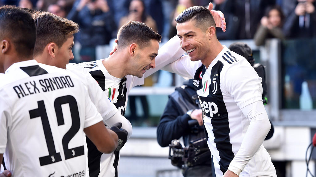 09e1ac618 Cristiano Ronaldo prepares to make his Coppa Italia debut as Juventus open  their quest for a fifth consecutive trophy on Saturday with a last 16 clash  ...