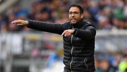 Boris Schommers geht optimistisch in das Spiel gegen Eintracht Frankfurt