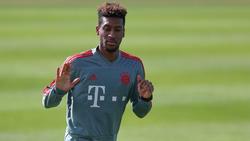 Kämpft mit großem Verletzungspech: Kingsley Coman vom FC Bayern