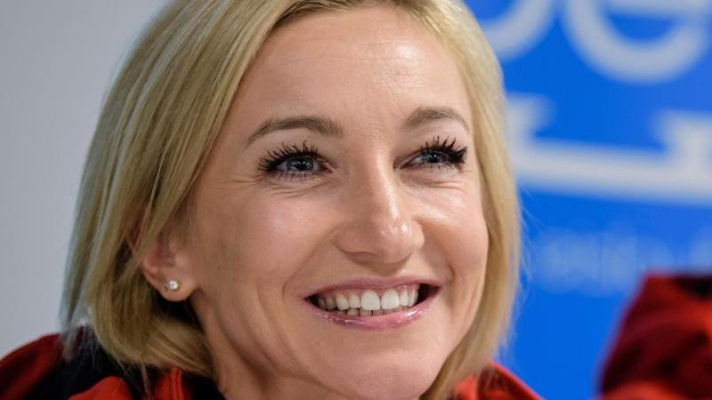 Eiskunstläuferin Aljona Savchenko erwartet ein Baby