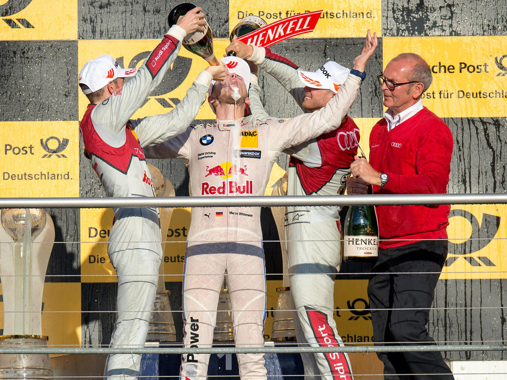 DTM-Champion Wittmann feierte ausgelassen