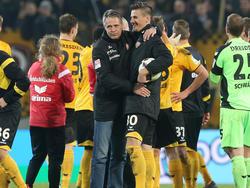 Stefan Kutschke (r.) erzielte einen Hattrick gegen Braunschweig
