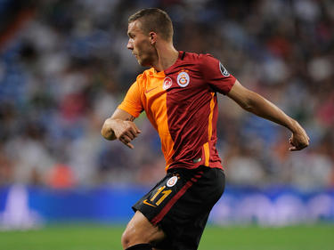 Lukas Podolski stand wieder für Galatasaray auf dem Rasen