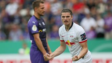 Marcel Sabitzer erzielte zwei Treffer für RB Leipzig