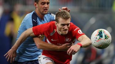 André Schürrle schied mit Spartak Moskau aus